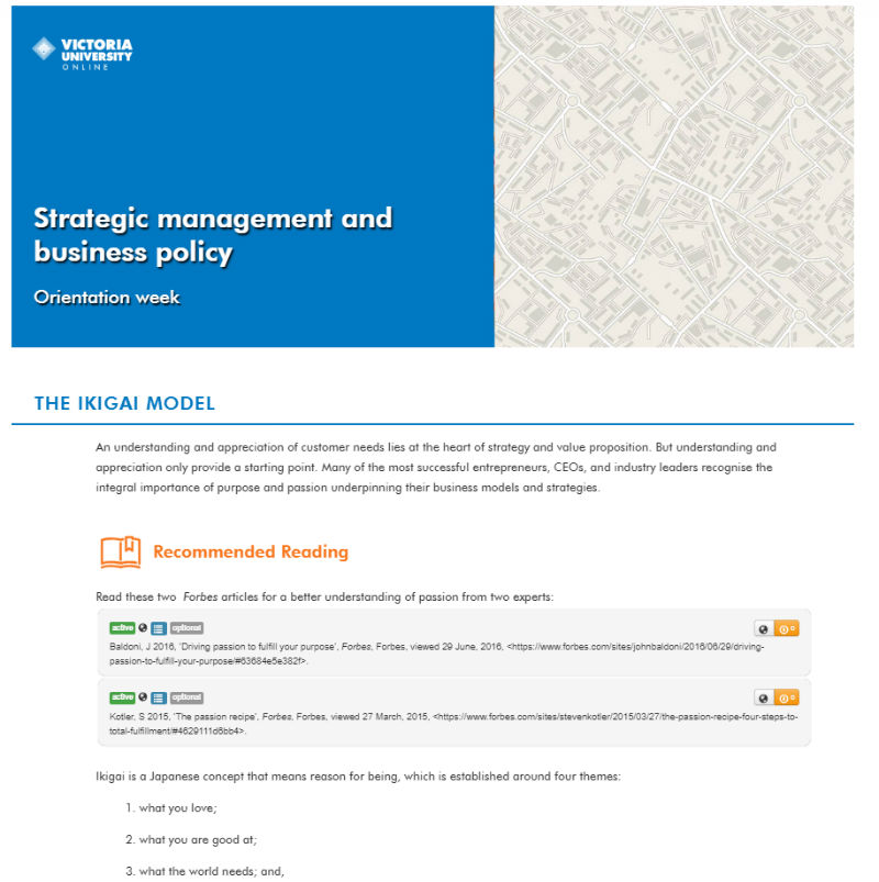 Upskill In Strategic Management And Business Policy Vu Online