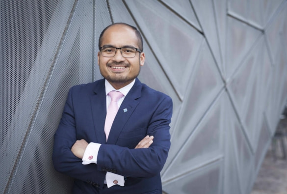 VU MBA Graduate Makes His Mark as CEO