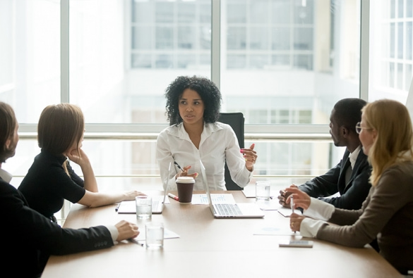 Positive effects of a gender-balanced boardroom